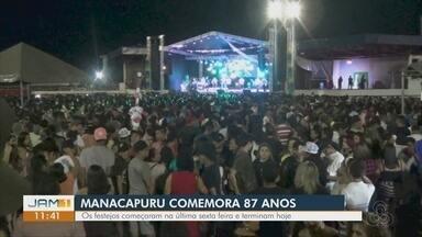 Manacapuru comemora 87 anos - Festejos começaram na última sexta-feira.
