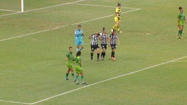 Ketlen deixa Gláucia na boa para fazer o segundo do Santos no jogo - Iranduba 0 x 5 Santos