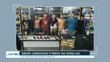 Grupo Marte interdita rua na Zona Sul para desativar artefatos explosivos em Manaus - Material foi apreendido com um grupo de pessoas que realizaria um ataque em bairro na Zona Sul de Manaus.