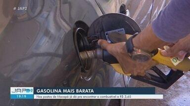 Com redução, combustível pode ser encontrado por até R$ 3,65 em postos de Macapá - Queda no preço é resultado da redução nas refinadoras, anunciada pela Petrobras.