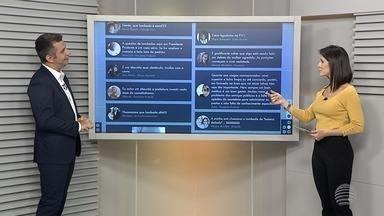 População pode participar do Fronteira Notícias - Mande mensagem para o WhatsApp da TV Fronteira.