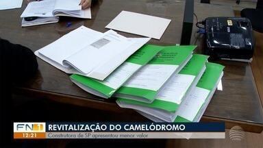 Empresa de São Paulo tem menor proposta para reforma do Camelódromo - Envelopes foram abertos nesta quinta-feira (18).