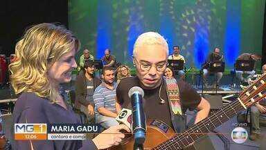 Maria Gadu se apresenta com Orquestra Opus - E ainda tem muitas outras atrações que o MG Cultura separou pra você.
