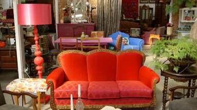 Sofá da Vergonha - Karina recebe a proposta de comprar um antigo sofá. Quando o móvel chega, ela é surpreendida: a peça está cheia de cupins.
