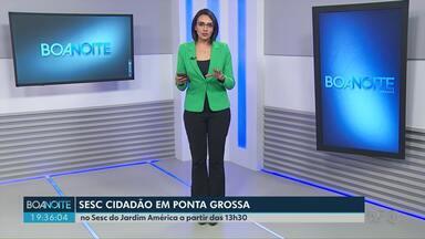 Neste sábado (20) tem SESC Cidadão em Ponta Grossa - Vai ser no Sesc do Jardim América e tem apoio da RPC. A programação começa às 13h30.