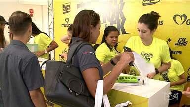 Começa entrega dos kits para a Corrida São Luís - Evento é promovido pelo Grupo Mirante e ainda dá para se inscrever.