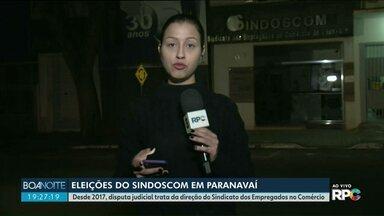Sindoscon de Paranavaí faz nova eleição depois de determinação judicial - Desde 2017, disputa judicial trata da direção do Sindicato dos Empregados no Comércio.