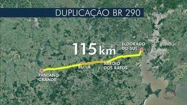 Duplicação da BR-290 receberá ajuda do exército brasileiro - Assista ao vídeo.