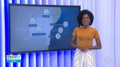 Confira a previsão do tempo em Salvador e no interior do estado - No oeste da Bahia, o tempo seco provoca incêndios em vegetações urbanas.