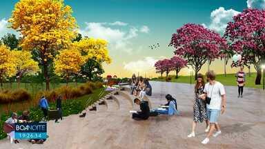 Maringá deve ganhar novo parque - Projeto prevê área de lazer e espaços para eventos culturais
