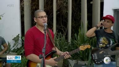 Banda Lyra se apresenta em Petrolina - Os músicos apresentam repertório com muito rock