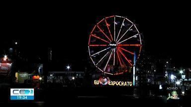 Noite de quinta da Expocrato teve sertanejo e axé - Confira mais notícias em g1.globo.com/ce