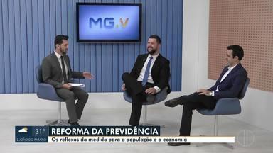 Debate Inter TV destaca reflexos da reforma da previdência para o país - Entrevistados destacam pontos positivos e negativos da reforma para a vida da população e para o sistema econômico do Brasil.