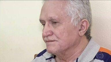 Justiça do Ceará mantém à prisão do médico que abusava de pacientes e gravava vídeos - José Hilton de Paiva, prefeito afastado de Urubuetama, passou por audiência de custódia. Ele foi preso ontem acusado de estupro por várias mulheres.