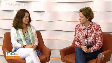 Atrizes Cláudia Abreu e Leandra Leal participam do BMD deste sábado - Artistas estão em Salvador para apresentar um espetáculo teatral. Confira.