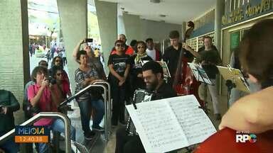 Fim de semana terá várias apresentações dentro do Festival de Música de Londrina - A programação do Festival vai até o dia 25 de julho.