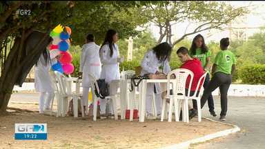 Cooperativa de crédito de Petrolina realiza o dia de cooperar - Foram realizadas oficinas de música, ginástica e oferecidos serviços de saúde para comunidade.