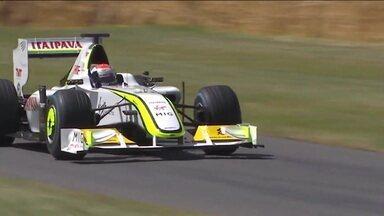 Última vitória do Brasil na Fórmula 1 completa 10 anos e Rubens Barrichello volta a pilotar carro vencedor - Última vitória do Brasil na Fórmula 1 completa 10 anos e Rubens Barrichello volta a pilotar carro vencedor