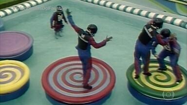 Olimpíadas do Faustão: Jogo do Disco - Relembra mais uma prova clássica!