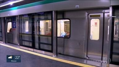 Depois de 15 dias de obras, Linha 2-Verde volta a operar normalmente - Metrô concluiu 1ª etapa da instalação de portas automáticas na Estação Vila Madalena.