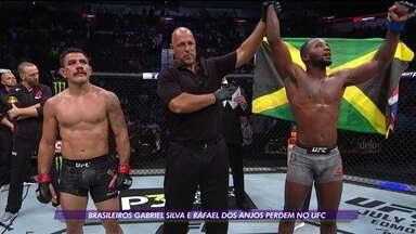 Brasileiros Gabriel Silva e Rafael dos Anjos perdem no UFC San Antonio - Brasileiros Gabriel Silva e Rafael dos Anjos perdem no UFC San Antonio