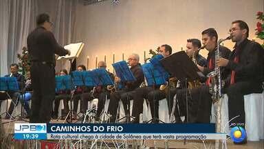 """JPB2JP: Rota cultural chega à cidade de Solânea que terá vasta programação - """"Caminhos do Frio""""."""