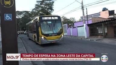Os passageiros da Zona Leste são os que mais sofrem com os atrasos de ônibus em SP - As cinco linhas mais multadas por atrasos circulam pela região