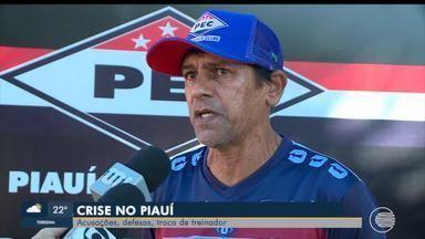 Após demissão de Maradona, Piauí anuncia Giva Albuquerque - Após demissão de Maradona, Piauí anuncia Giva Albuquerque