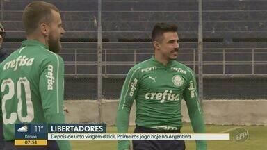 Palmeiras enfrenta o Godoy Cruz nesta terça-feira pela Libertadores - Time de Felipão tenta vitória após derrotas no Brasileiro e na Copa do Brasil.