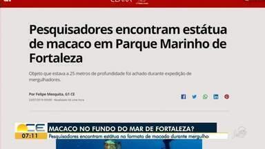 Veja os principais destaques do G1 Ceará desta terça-feira (23) - Saiba mais em g1.com.br/ce