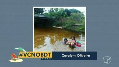 #VocêNoBDT: Confira fotos dos telespectadores que estão curtindo as férias - Participe enviando sua foto para o (93) 99122 9460.