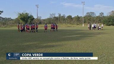 União ABC se prepara para estrear na Copa Verde contra o Galvez - Jogo será na tarde de quinta-feira (25) no estádio Jacques da Luz, em Campo Grande.