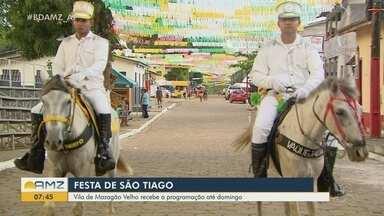 Mazagão Velho se prepara para o ponto alto da Festa de São Tiago - Distrito começa a se movimentar para a tradicional celebração que atrai milhares de turistas para o interior do estado.