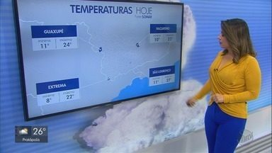 Confira a previsão do tempo para o Sul de Minas Gerais nesta terça-feira - Confira a previsão do tempo para o Sul de Minas Gerais nesta terça-feira