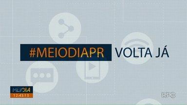 Telespectadores chamam o intervalo do Meio Dia Paraná - Participe pelo 9 9972 5178.