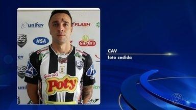 Atacante Caio Mancha vai defender o Votuporanguense - Atacante Caio Mancha, de 26 anos, acerta com o Votuporanguense. Ele pertence a Ferroviária, estava no Taubaté e passou pelo Palmeiras.