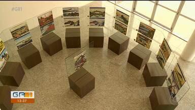 Exposição que retrata o interior do Japão está em cartaz na Univasf em Petrolina - O projeto oferece a opção de audiodescrição das obras expostas por meio de leitor de Qrcode.