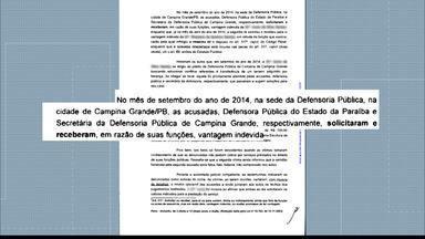 Na Paraíba Defensoria Pública estaria cobrando por serviços que são de graça - A denúncia é do Ministério Público e foi recebida pelo Tribunal de Justiça da Paraíba.