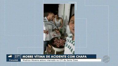 Homem morre com queimaduras causadas por explosão durante festa de jogo de futebol - morte