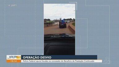 Ex-servidor do INSS é preso pela PF no Amapá em operação contra fraudes em benefícios - Polícia Federal investiga concessão indevida do Benefício de Prestação Continuada (BPC). Mandados foram cumpridos em Macapá.