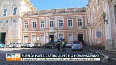 Festa Literária Internacional do Pelourinho é lançada e anuncia homenagem a Castro Alves - Terceira edição do evento acontece de 7 a 11 de agosto, em Salvador.