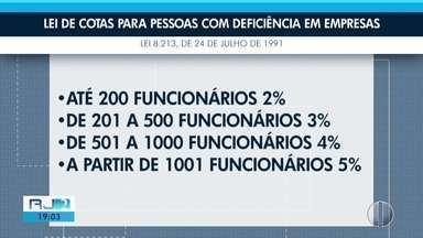 Aplicativo pode ajudar pessoas com deficiência a encontrar emprego em Petrópolis - Ideia surgiu na cidade.