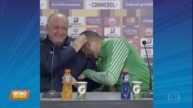 Curso grátis: aprenda a falar portunhol com Weverton, goleiro do Palmeiras - Curso grátis: aprenda a falar portunhol com Weverton, goleiro do Palmeiras