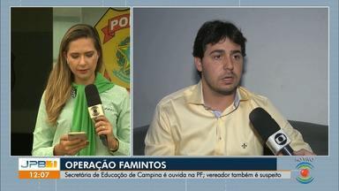 Secretária de Educação de Campina Grande se apresenta à PF após mandado de prisão - Iolanda Barbosa é investigada em operação que apura fraudes em licitações e desvios relacionados à merenda escolar.