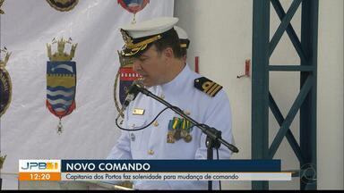 Capitania dos Portos da Paraíba tem novo comando - Solenidade de posse aconteceu na manhã desta quinta-feira (25).