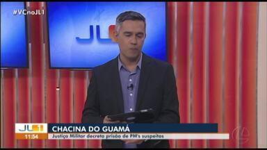 Justiça Militar decreta prisão preventiva de PMs envolvidos na chacina do Guamá - Justiça Militar decreta prisão preventiva de PMs envolvidos na chacina do Guamá
