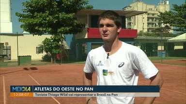 Tenista Thiago Wild vai representar o Brasil nos jogos Panamericanos, no Peru - Os jogos começam nesta sexta-feira, dia 26 de julho.