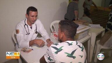 Abrigos recebem pessoas que ficaram desalojadas em Olinda; saiba como doar - Estádio Grito da República, em Rio Doce, é um dos abrigos.