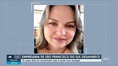 Corpo de mulher que teve o carro incendiado é encontrado em Araquari - Corpo de mulher que teve o carro incendiado em São Francisco do Sul é encontrado em Araquari