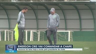Chape anuncia demissão de Ney Franco; interino assume - Chape anuncia demissão de Ney Franco; interino assume